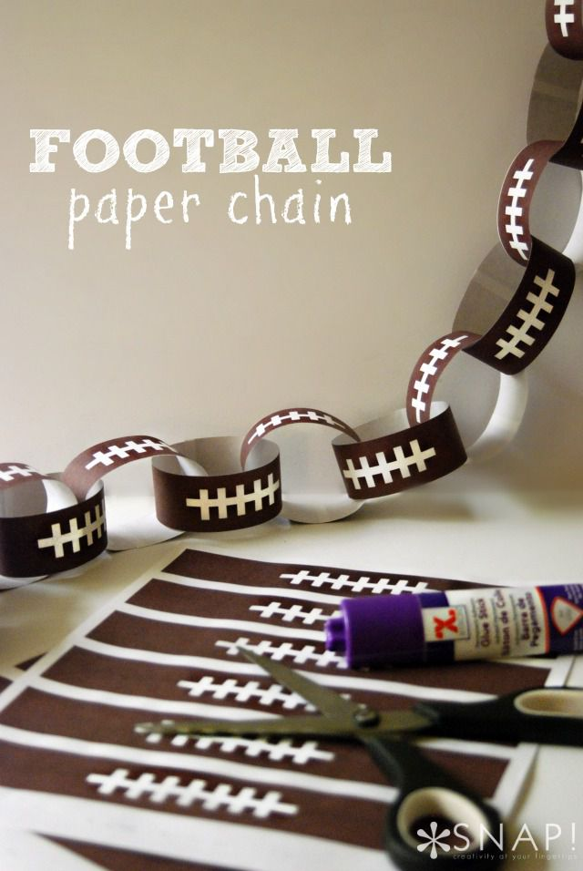 Football Countdown Chain