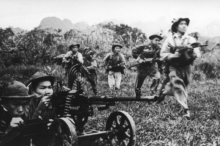 Viet Cong Attack