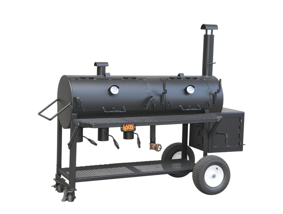 Lang 36-Inch Hybrid Smoker