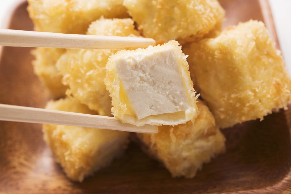 breaded tofu