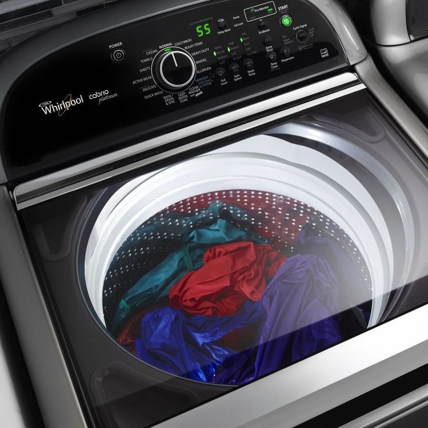 Get Best Results from HE Top Load Washer