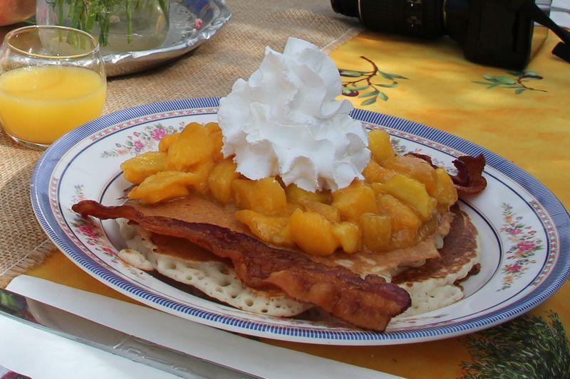 Peaches from Schnepf Farms