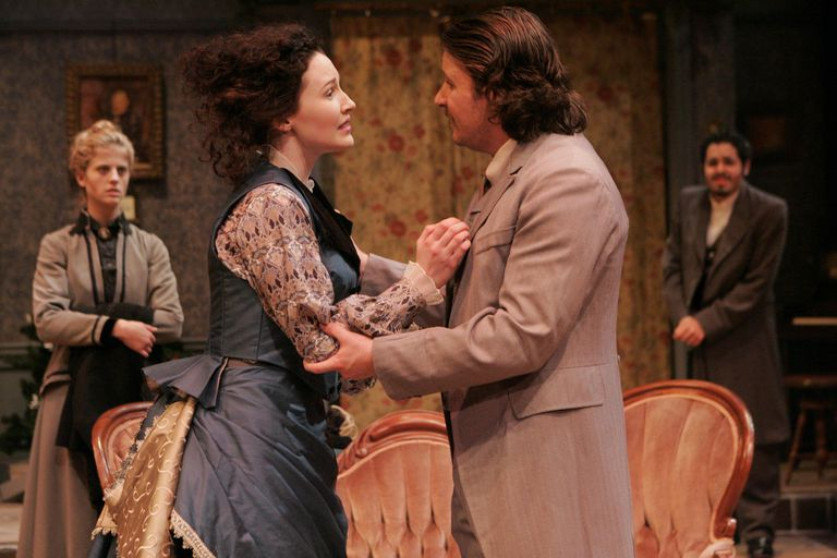 """A Doll's House University of Minnesota, College of Liberal Arts, Department of Theatre Arts and Dance - A DOLL'S HOUSE"""" - Directed by Steve Cardamone."""