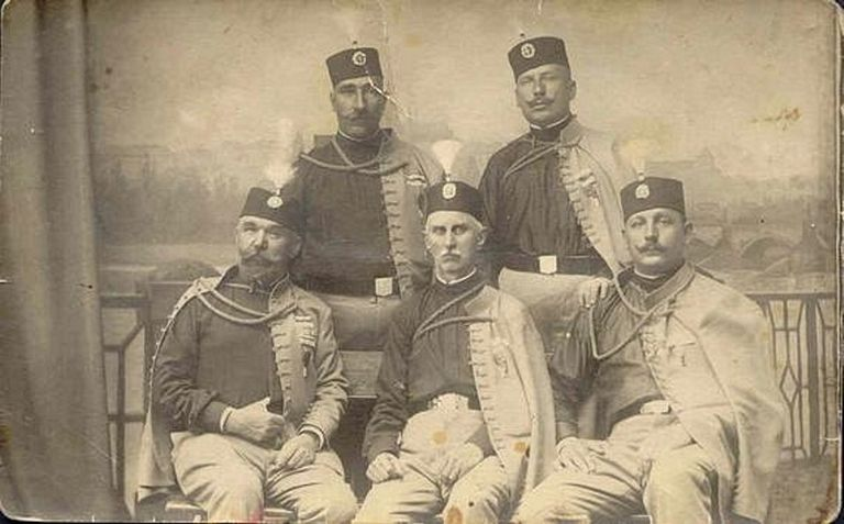 photo of early members of the Black Hand