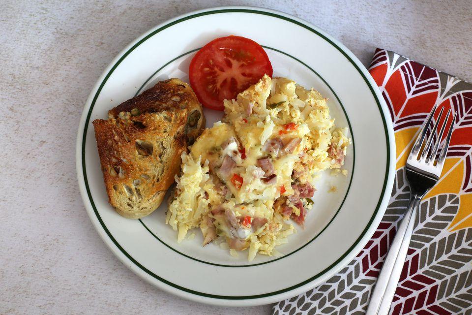 Crock pot breakfast casserole recipe for Crockpot breakfast casserole recipes