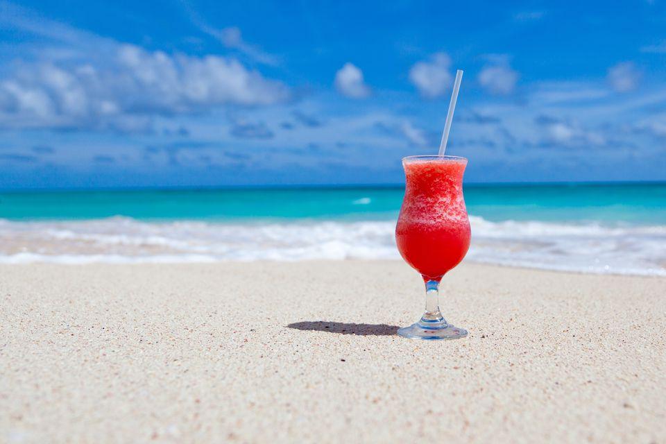 beach drink