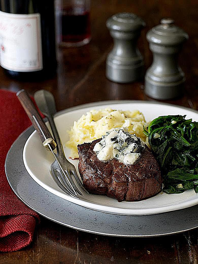 Blue Cheese Steak Topping