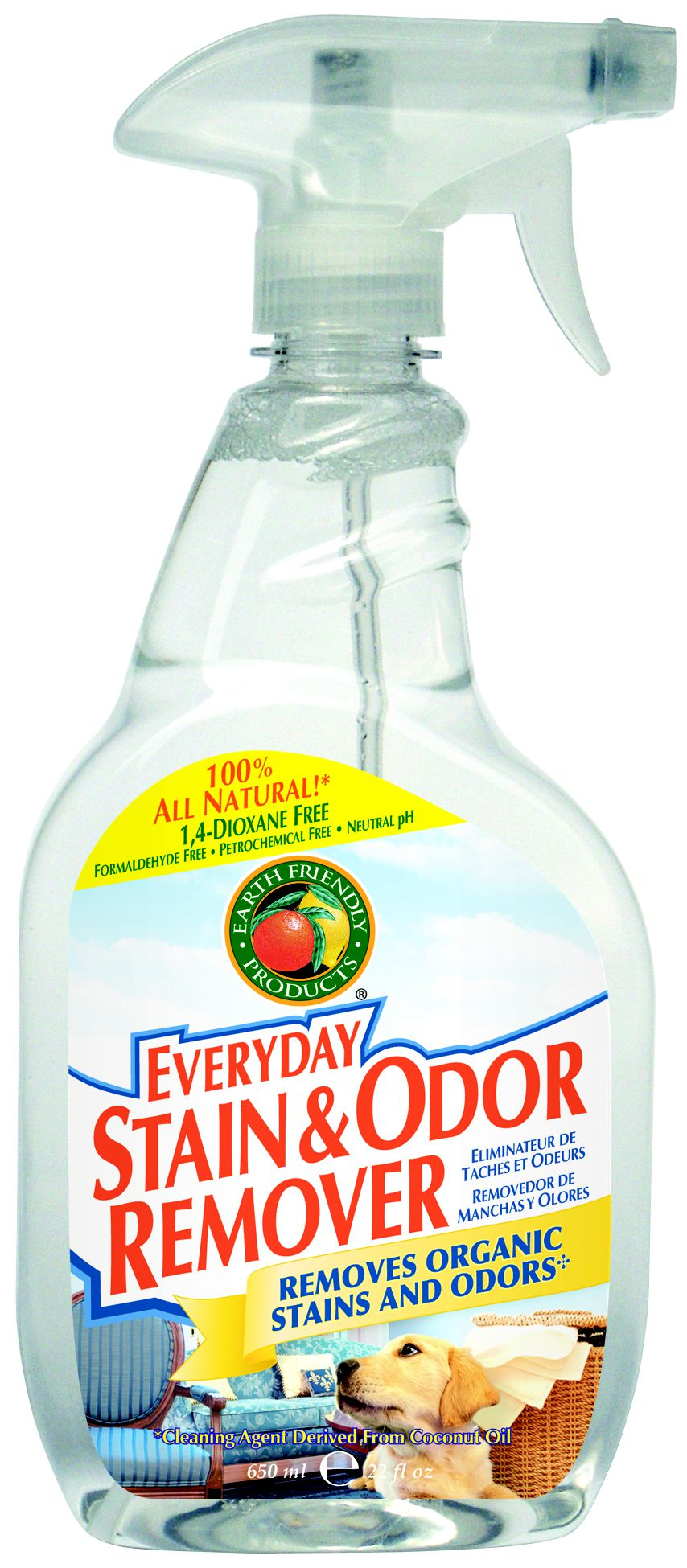 Earth Friendly Products Everyday Stain & Odor Remover