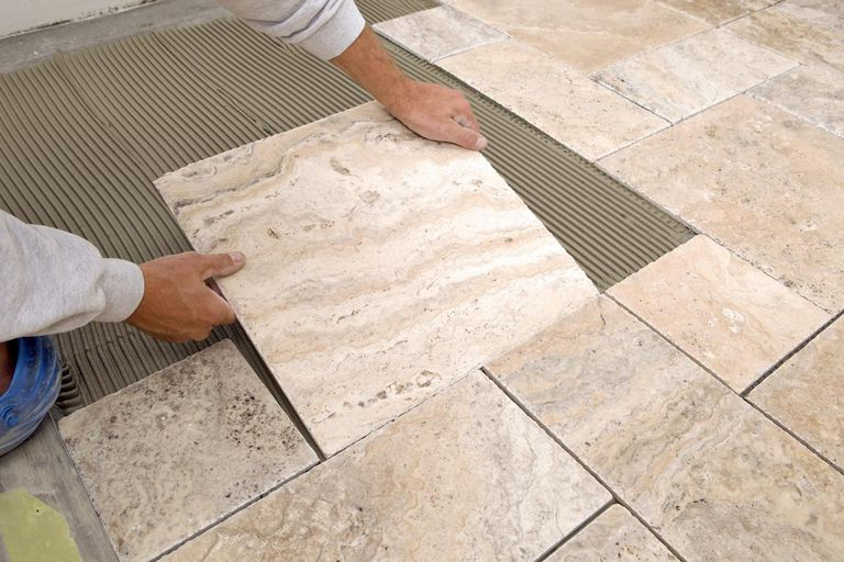 Installing Sealing and Protecting Marble Tile Flooring