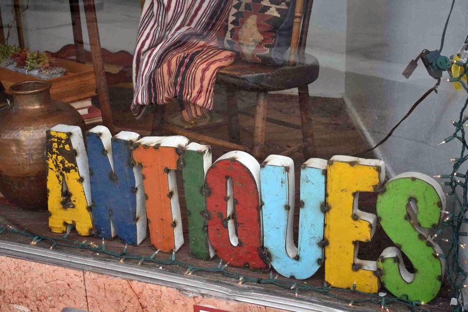 Houston Antiques shop
