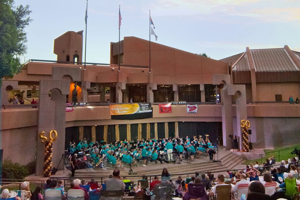 Glendale Summer Band performs in Glendale, AZ