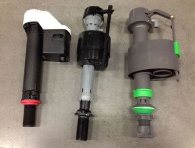 Float cup fill valves
