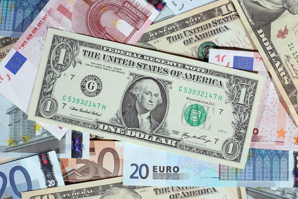 Euros and US Dollars