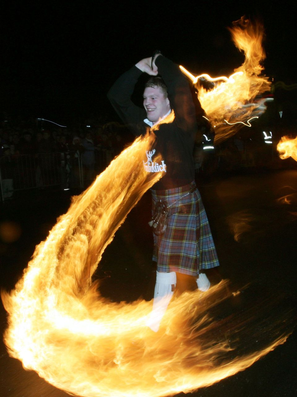 The Fireballs Hogmany Celebrations In Stonehaven