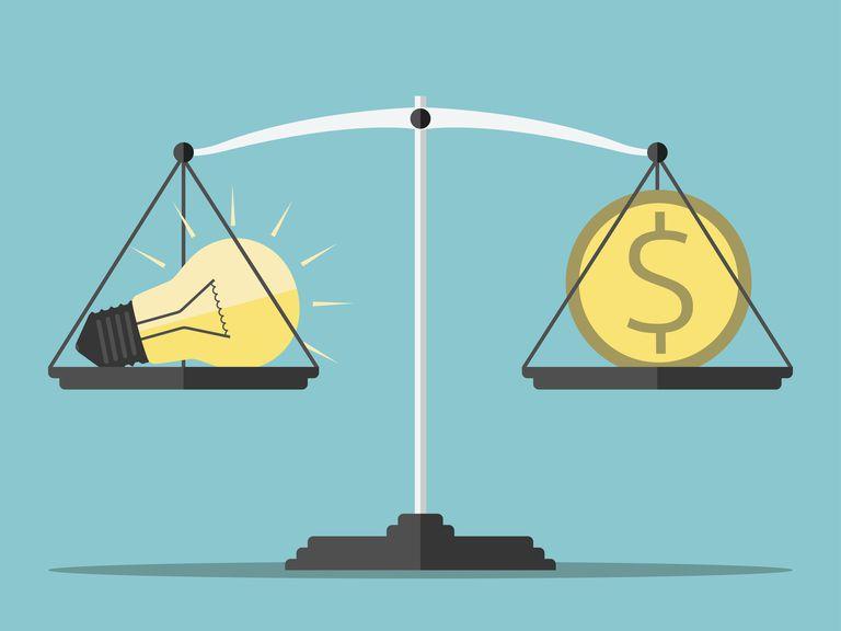Balancing money and utilities.