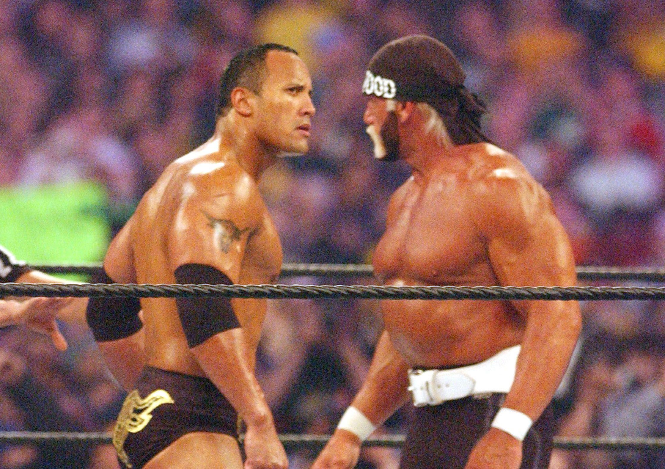 Stenen Utfordrer Hulk Hogan