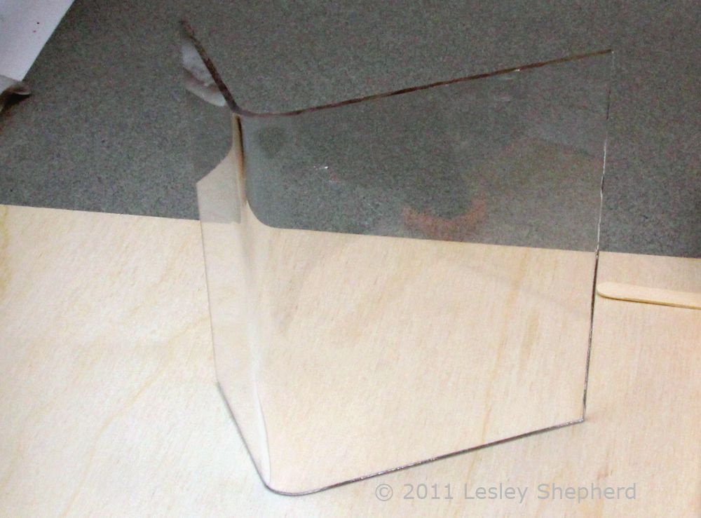 Easily Bend Sheet Acrylic Plexiglass With Home Tools