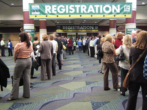 How to setup the perfect registration table.
