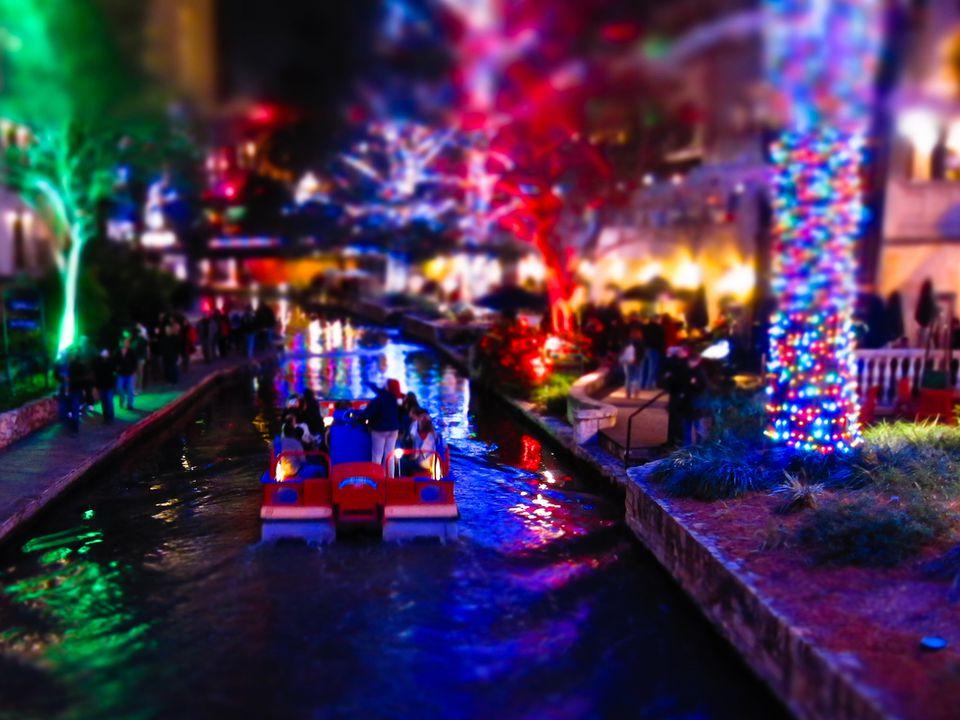 San Antonio Riverwalk Lights