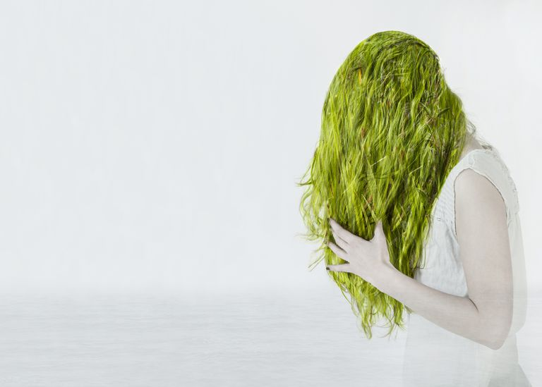 Chemicals in pool water can affect your hair, eyes, and skin. But, it's not the chlorine that turns your hair green.