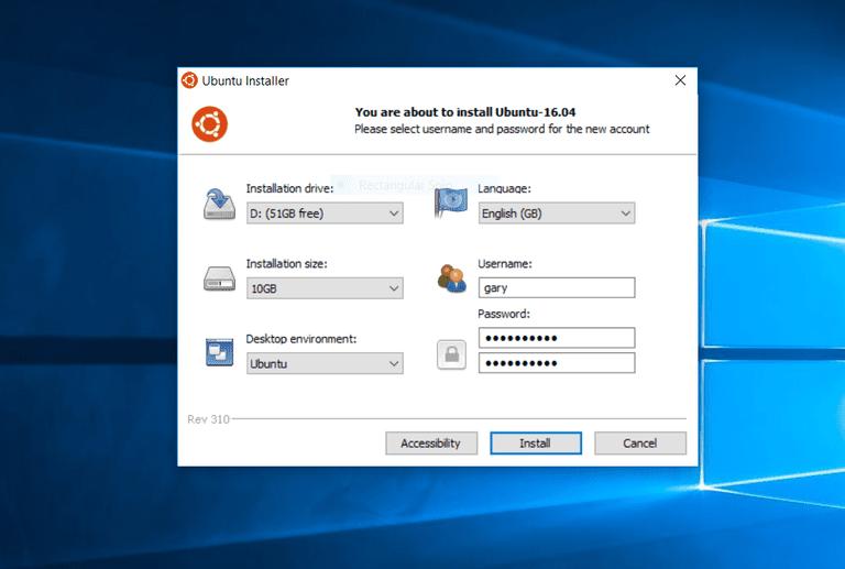 How To Install Ubuntu Using WUBI