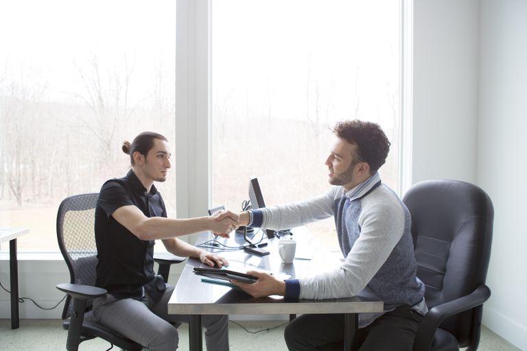 Job interview meeting