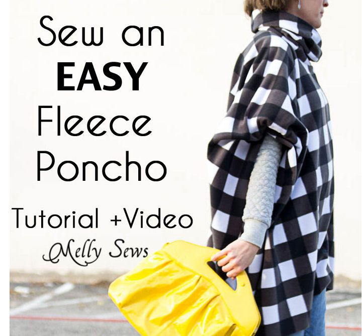 no sew poncho instructions