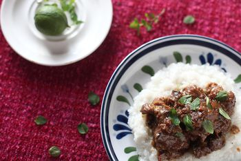 Marinated Beef Rendang Recipe