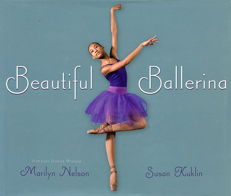 Beautiful Ballerina - Children's Book Cover