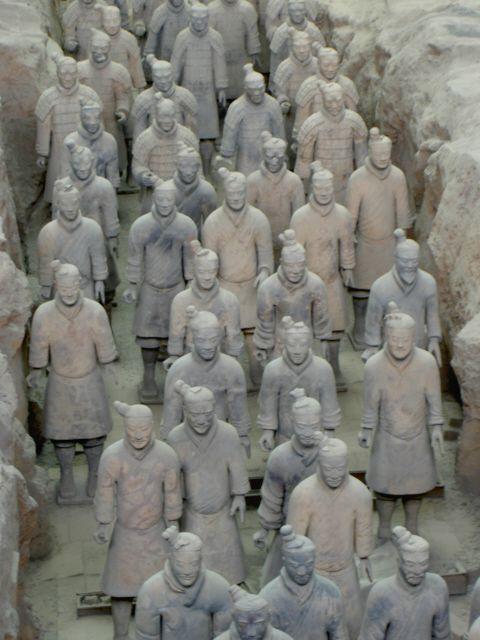 terracott warriors xi'an