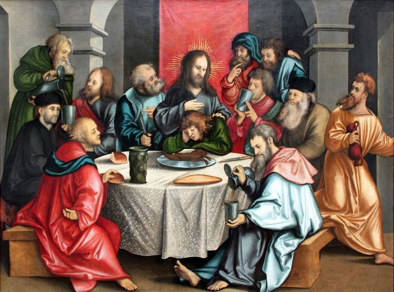 The Last Supper by Hans Leonhard Schäufelein (1511).