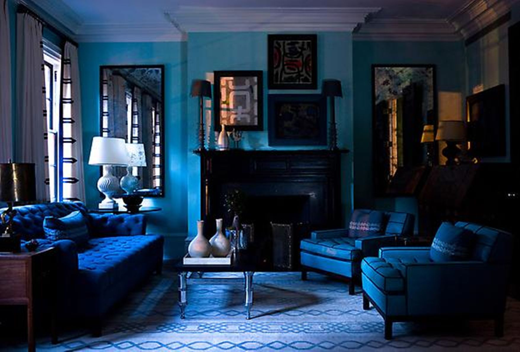 15 Beautiful Blue Rooms