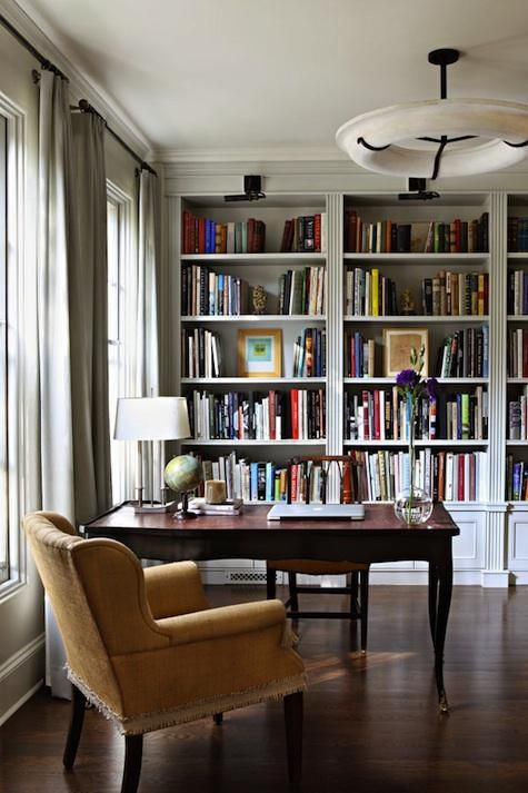 Home Library Decorating Ideas: 25 Stunning Home Library Design Ideas