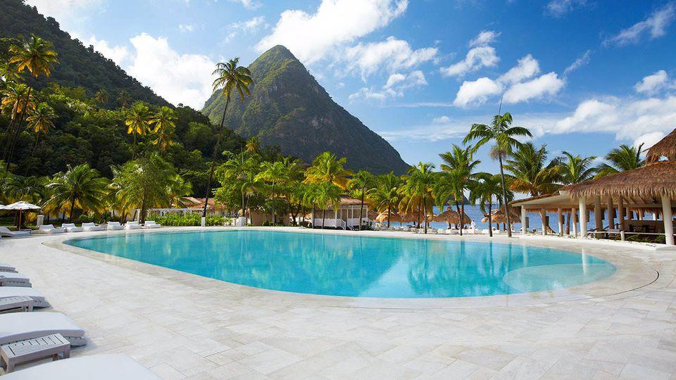 Sugar Beach Resort, St. Lucia
