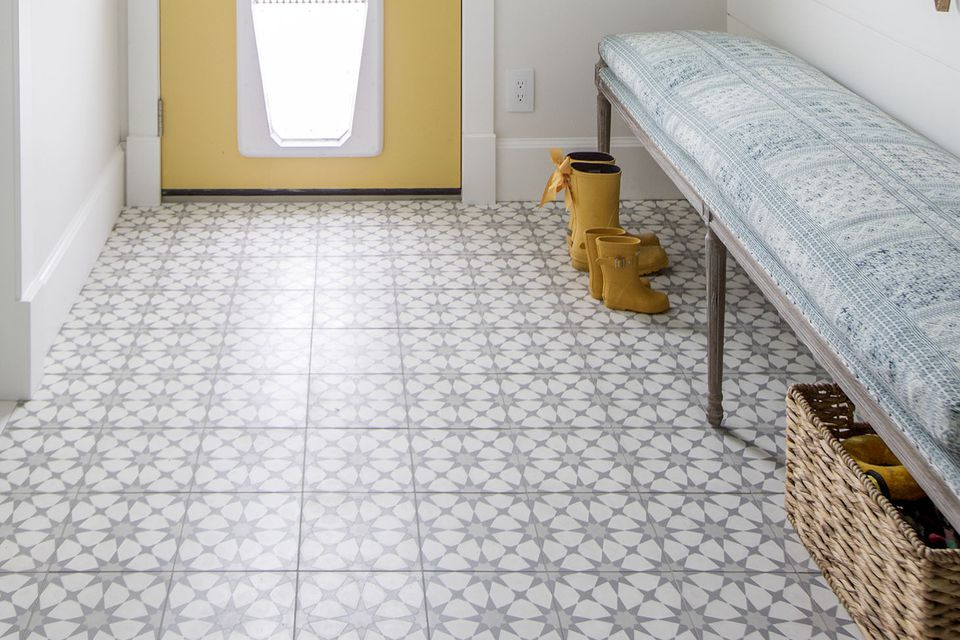 Foyer Tile Utah : Flooring ideas for entryways