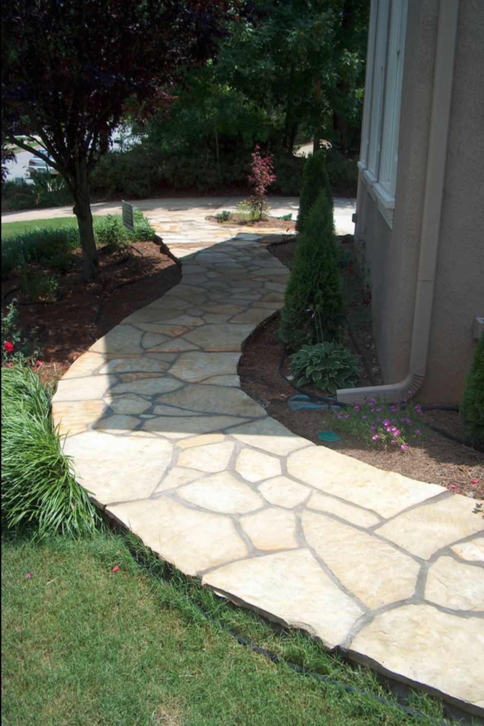 Uncategorized Flagstone Pathways smooth tight flagstone pathway mortared stone 1000 x 1500