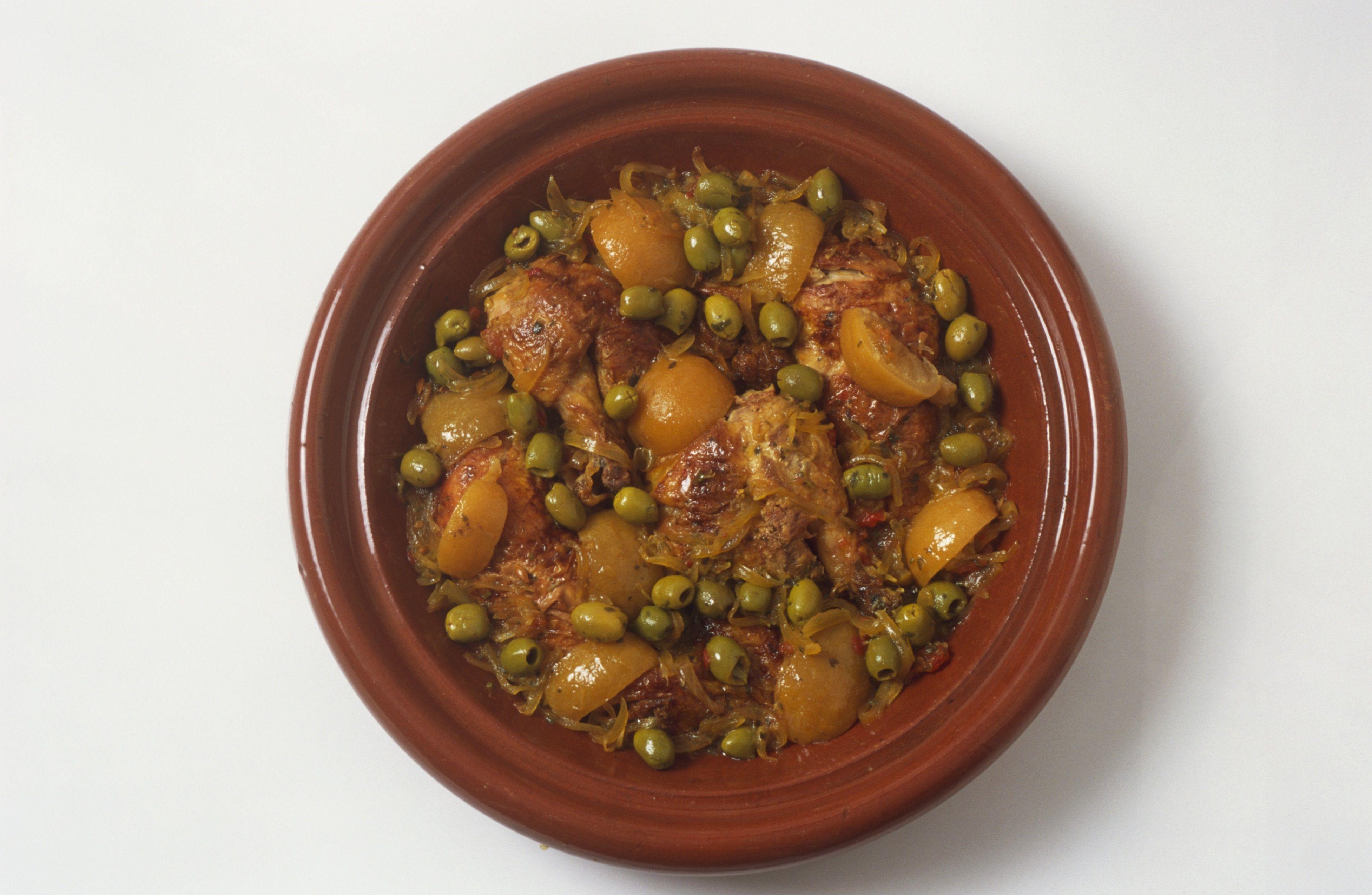 Traditional Moroccan Chicken Tagine Recipe