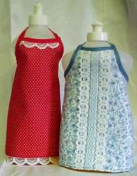 Dish Liquid Bottle Apron