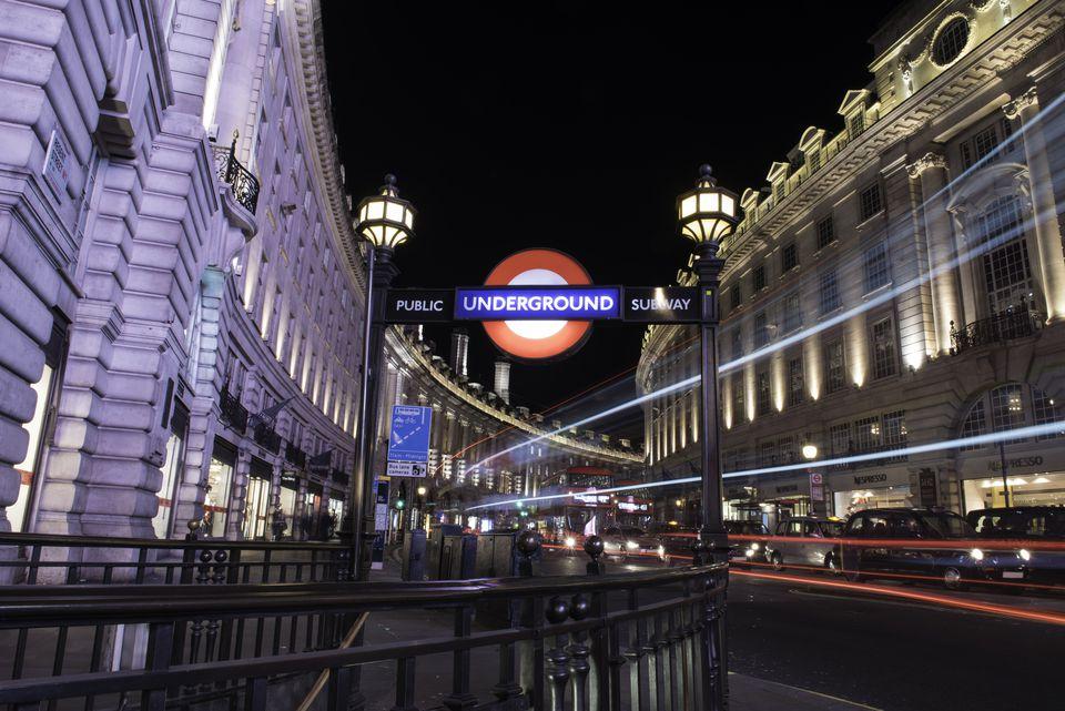 Regent Street, London tube entrance