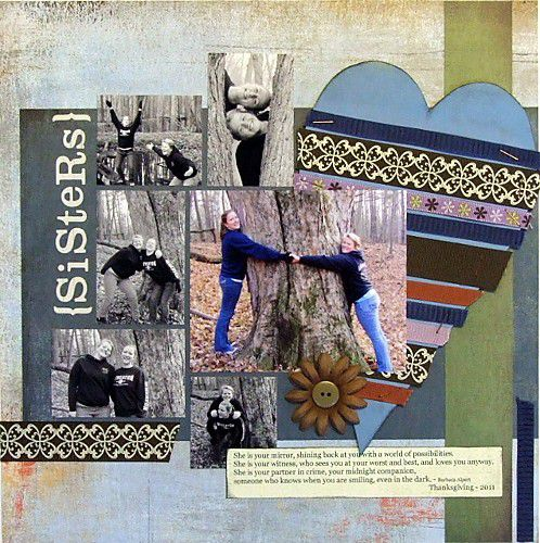 How to Cover Chipboard with Ribbon