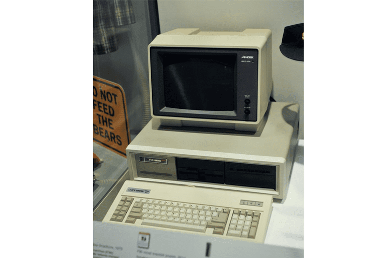 Picture of a 1986 PC Limited Computer