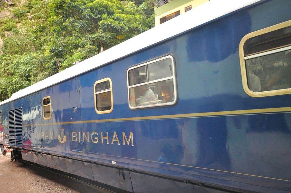 The Hiram Bingham train is the most luxurious way to journey between Cusco and Machu Picchu. For many visitors a trip to Machu Picchu is a once in a lifetime experience