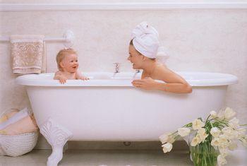 You ll love these small and affordable clawfoot tubsAcrylic vs  Cast Iron Clawfoot Bathtubs. Clawfoot Baby Bath Tub. Home Design Ideas