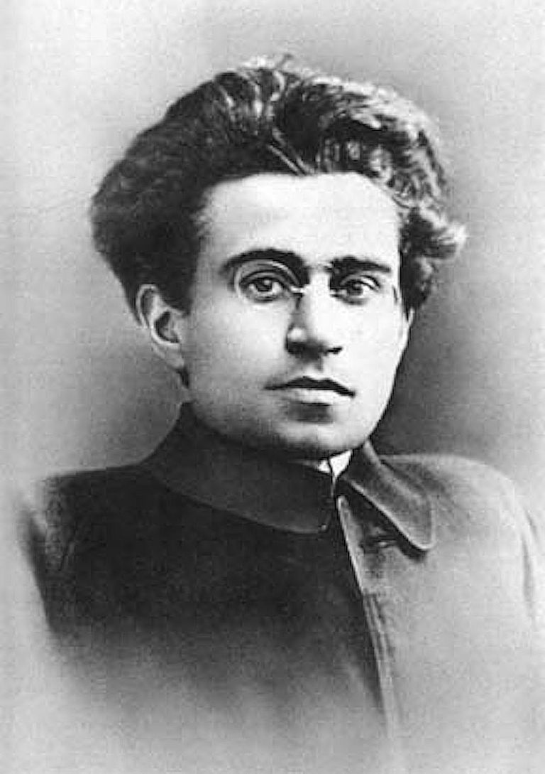 Portrait of Antonio Gramsci, the Marxist Italian journalist, socialist activist and political prisoner renowned for writing The Prison Notebooks.