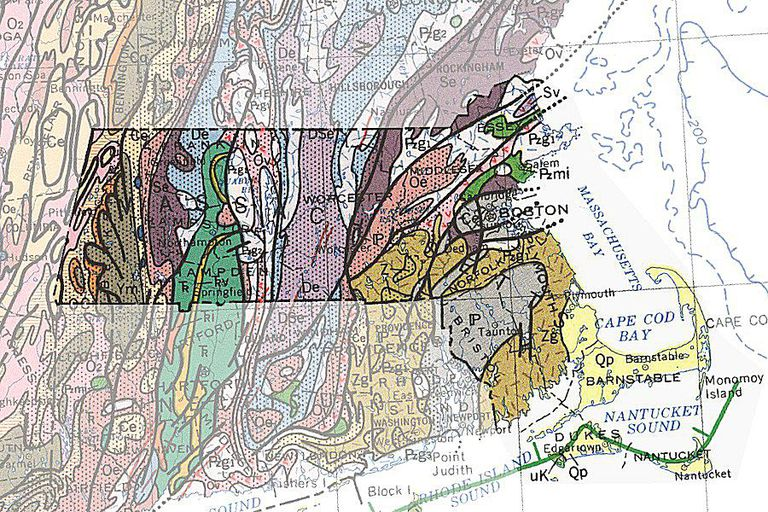 Geologic Maps Of The United States - Maps massachusetts