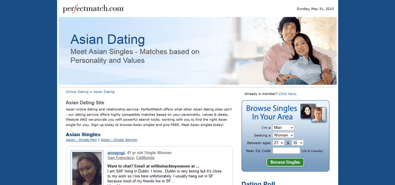 Major online dating sites