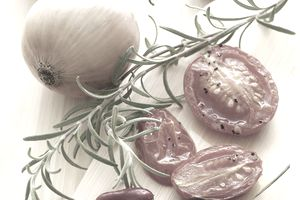 Smoked Tomato Chili Onion and Rosemary dishes inspired by the McCormick Flavor Forecast 2013