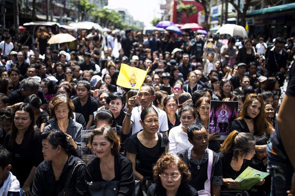 Thailand Mourning Period for King Bhumibol