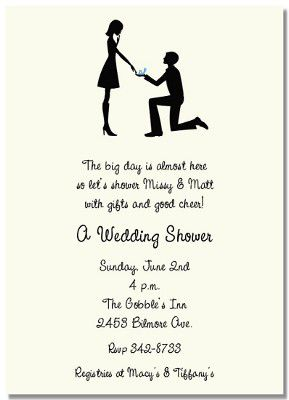 Bridal shower and engagement party invitations filmwisefo