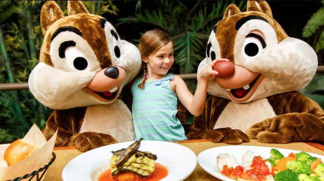 Disney World Garden Grill Restaurant